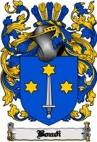 Pay for Bondi Family Crest  Bondi Coat of Arms
