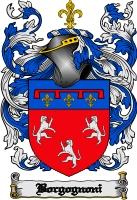 Pay for Borgognoni Family Crest  Borgognoni Coat of Arms