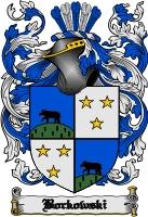 Pay for Borkowski Family Crest  Borkowski Coat of Arms