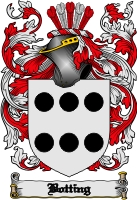 Pay for Botting Family Crest  Botting Coat of Arms