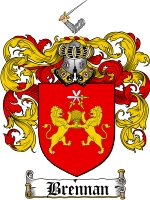 Pay for Brennan Family Crest / Brennan Coat of Arms