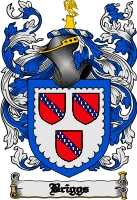 Pay for Briggs Family Crest / Briggs Coat of Arms