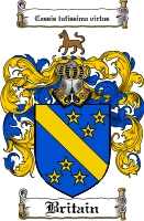 Pay for Britain Family Crest Britain Coat of Arms Digital Download