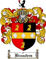 Pay for Broaders Family Crest  Broaders Coat of Arms