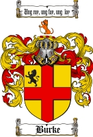 Pay for Burke Family Crest / Burke Coat of Arms