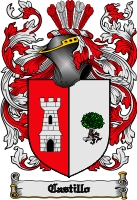 Pay for Castillo Family Crest  Castillo Coat of Arms