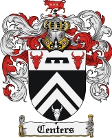 Pay for Centers Family Crest  Centers Coat of Arms