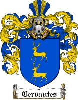 Pay for Cervantes Family Crest  Cervantes Coat of Arms