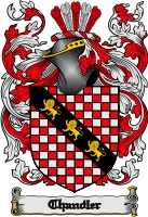 Pay for Chandler Family Crest / Chandler Coat of Arms