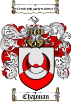 Pay for Chapman Family Crest / Chapman Coat of Arms