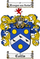 Pay for Collis Family Crest  Collis Coat of Arms