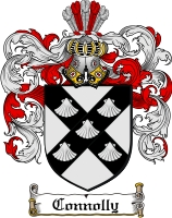 Pay for Connolly Family Crest / Connolly Coat of Arms