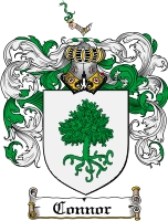 Pay for Connor Family Crest  Connor Coat of Arms