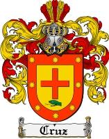 Pay for Cruz Family Crest  Cruz Coat of Arms