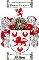 Pay for Dillon Family Crest / Dillon Coat of Arms