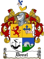 Pay for Donel Family Crest  Donel Coat of Arms
