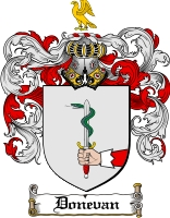 Pay for Donevan Family Crest  Donevan Coat of Arms