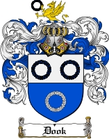 Pay for Dook Family Crest  Dook Coat of Arms