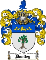 Pay for Doolley Family Crest  Doolley Coat of Arms