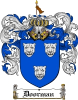 Pay for Doorman Family Crest  Doorman Coat of Arms