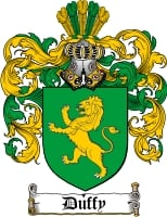Pay for Duffy Family Crest / Duffy Coat of Arms
