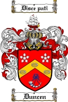 Pay for Duncen Family Crest  Duncen Coat of Arms
