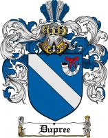 Pay for Dupree Family Crest  Dupree Coat of Arms
