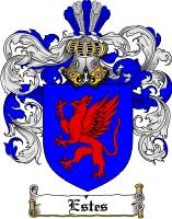 Pay for Estes Family Crest  Estes Coat of Arms