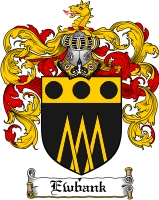 Pay for Ewbank Family Crest  Ewbank Coat of Arms