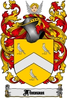 Pay for Finnan Family Crest  Finnan Coat of Arms Digital Download