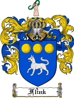 Pay for Flink Family Crest  Flink Coat of Arms Digital Download