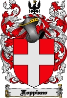 Pay for Foppiano Family Crest  Foppiano Coat of Arms Digital Download