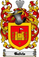 Pay for Galicia Family Crest  Galicia Coat of Arms Digital Download