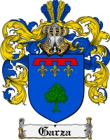 Pay for Garza Family Crest  Garza Coat of Arms