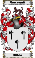 Pay for Gibbs Family Crest / Gibbs Coat of Arms