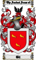 Pay for Gill Family Crest / Gill Coat of Arms