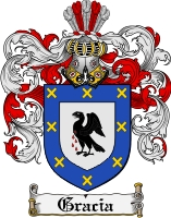 Pay for Gracia Family Crest  Gracia Coat of Arms