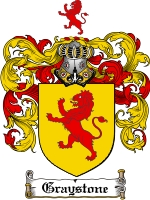 Pay for Graystone Family Crest  Graystone Coat of Arms