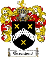 Pay for Greenwud Family Crest  Greenwud Coat of Arms