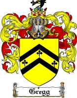 Pay for Gregg Family Crest  Gregg Coat of Arms