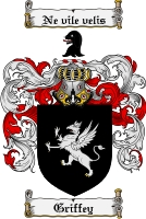 Pay for Griffey Family Crest  Griffey Coat of Arms