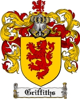 Pay for Griffiths Family Crest Griffiths Coat of Arms Digital Download
