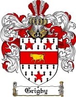 Pay for Grigby Family Crest  Grigby Coat of Arms