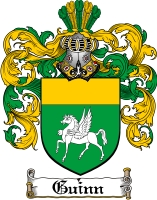 Pay for Guinn Family Crest  Guinn Coat of Arms
