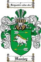 Pay for Hanley Family Crest  Hanley Coat of Arms Digital Download