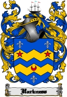 Pay for Harkness Family Crest  Harkness Coat of Arms Digital Download