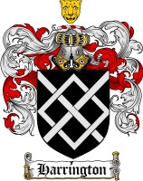 Pay for Harrington Family Crest / Harrington Coat of Arms