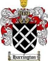 Pay for Harrington Family Crest / Harrington Coat of Arms