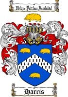 Pay for Harris Family Crest / Harris Coat of Arms