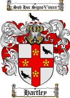 Pay for Hartley Family Crest / Hartley Coat of Arms